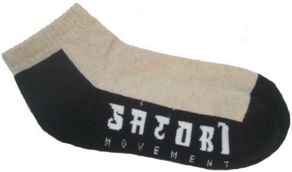 Satori Movement Hemp Crew Ankle Socks - Natural