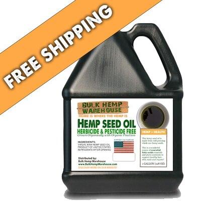 USA Hemp Seed Oil - 1 Gal - FREE SHIPPING
