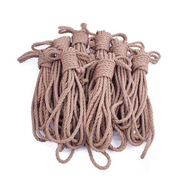 100% Hemp Rope 6mm Coils (50 Yards each)