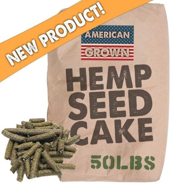 Raw Hemp Seed Cake Bulk Wholesale - 50lb