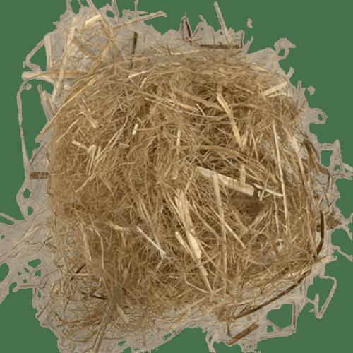 Long Hemp Bast Fiber Raw - Canadian Grown