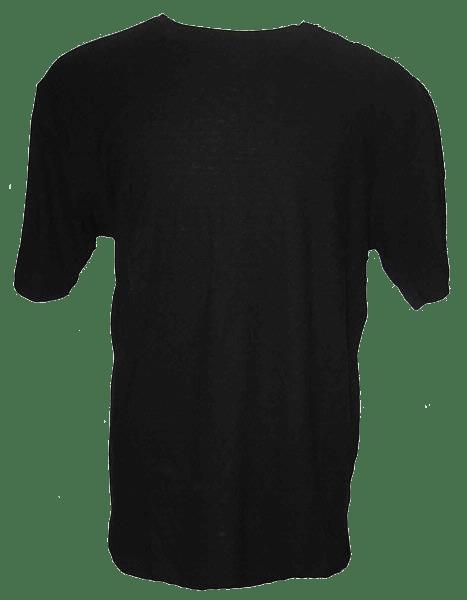 Blank Hemp T-shirt - Black