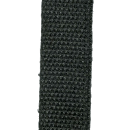 Black Hemp Webbing - 1 inch | 55 Yard Coil