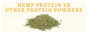 Hemp Protein compared to other proteins
