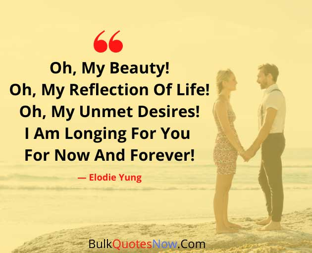 deep forever love quotes
