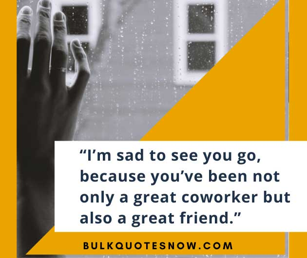 farewell quotes for colleagues at work