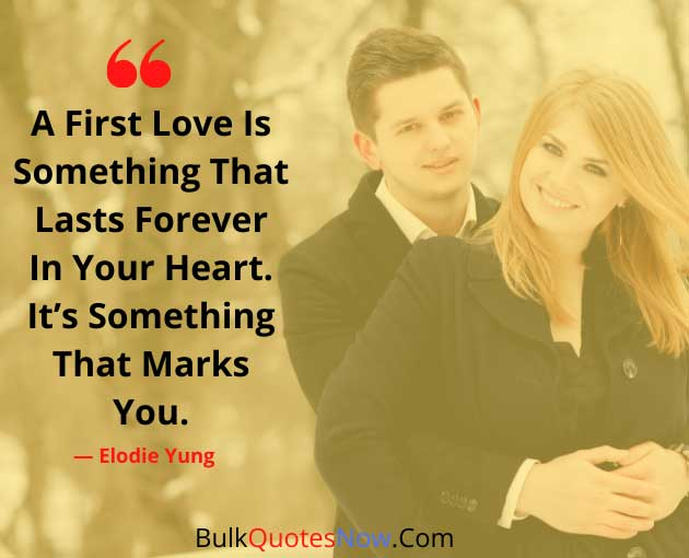 first love is forever love