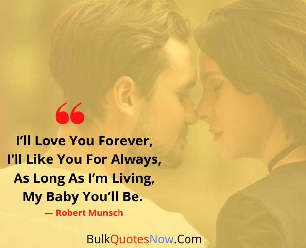i will love you forever quotes