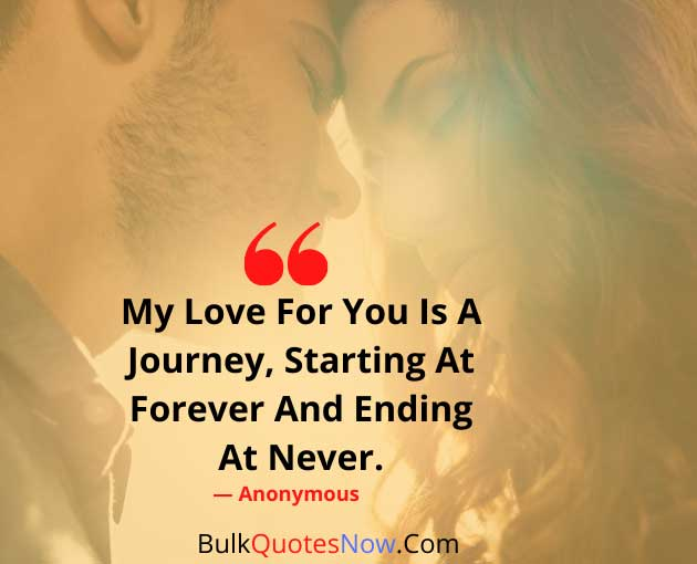 my love is forever quotes