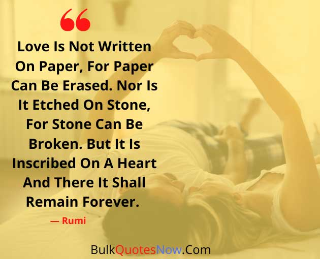 remember love forever quotes
