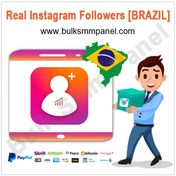 Real Instagram Followers [BRAZIL]
