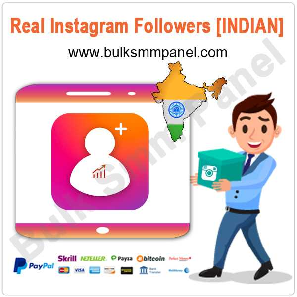 Real Instagram Followers INDIAN]