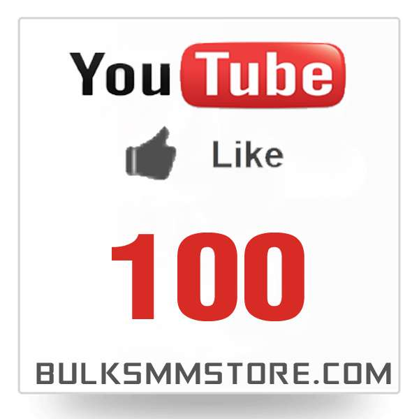 Real 100 Youtube Likes