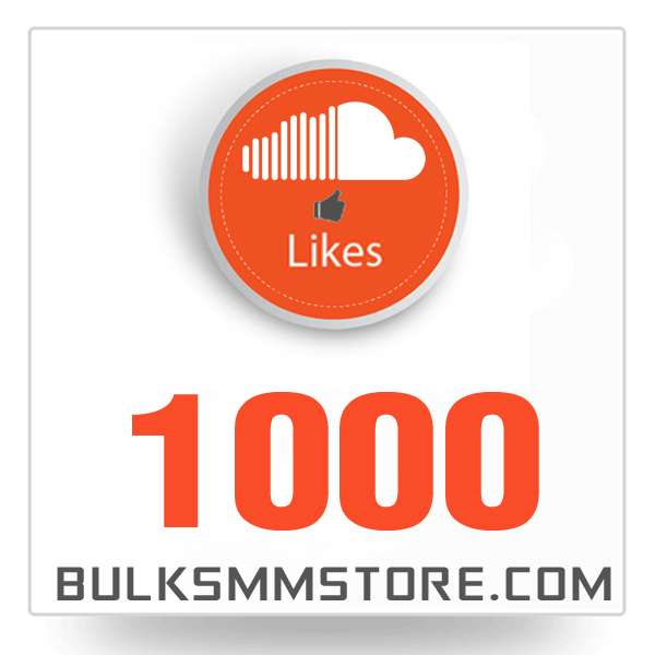 Real 1000 Soundcloud Likes
