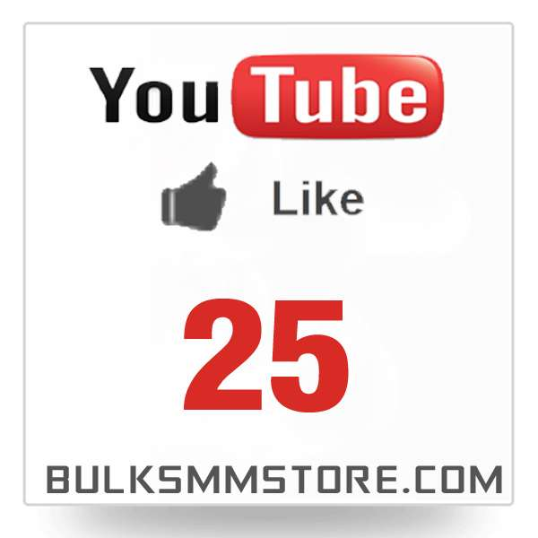 Real 25 Youtube Likes