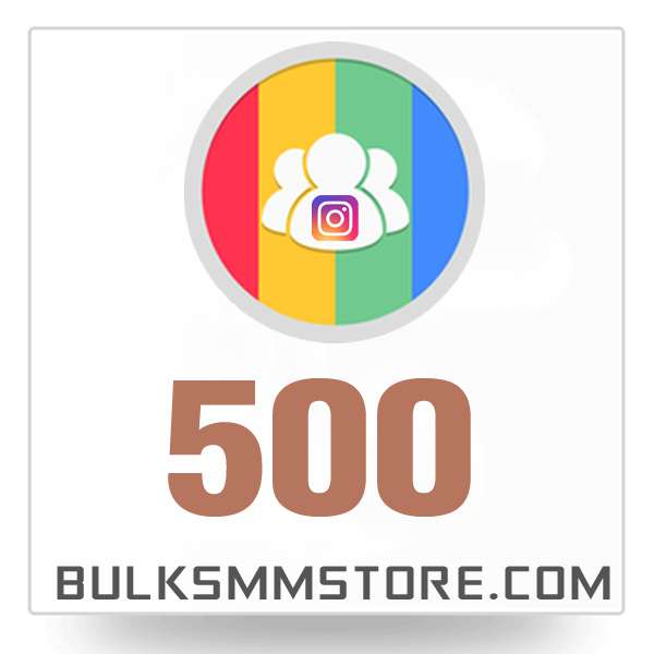 Real 500 Instagram Followers