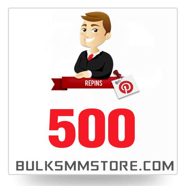 Real 500 Pinterest Repin