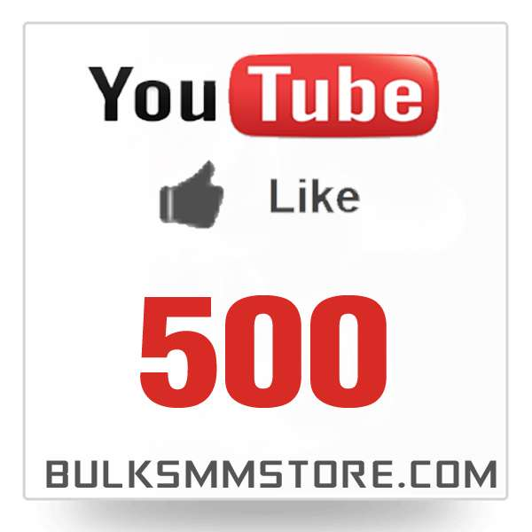 Real 500 Youtube Likes