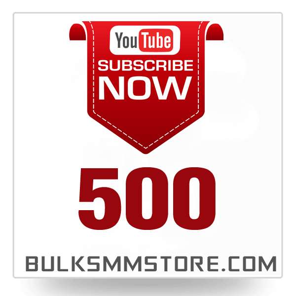 Real 500 Youtube Subscriber