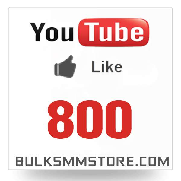 Real 800 Youtube Likes