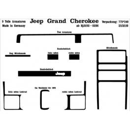 Jeep Grand Cherokee Mk1 ZJ 01.93-03.96Dash Trim Kit 3M 3D