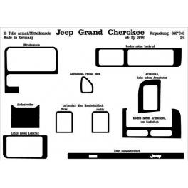 Jeep Grand Cherokee Mk1 Z / ZG 01.96 up Dash Trim Kit 3M