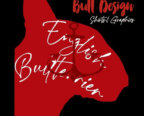 English Bullterrier Motiv