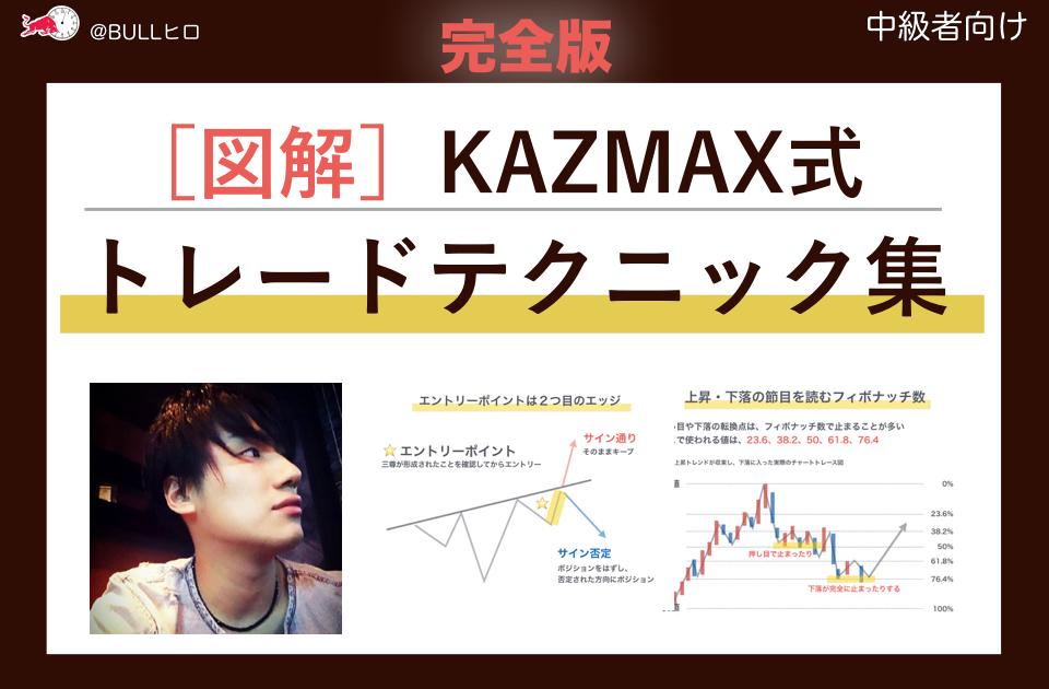 [完全図解]KAZMAX式トレード・テクニカル_ビットコインFX