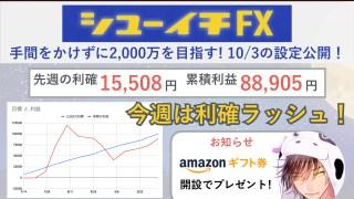 シューイチFX トラリピ攻略 1003.001