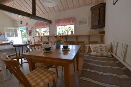 Köket i gårdslängan