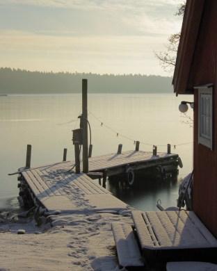 Snöbrygga Foto: Erik Norrman