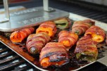 Bacon Wrapped Sweet & Spicy Peppers