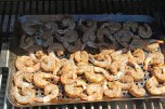 on the grill grid