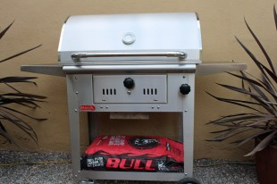 Bull Bison Charcoal Grill Cart