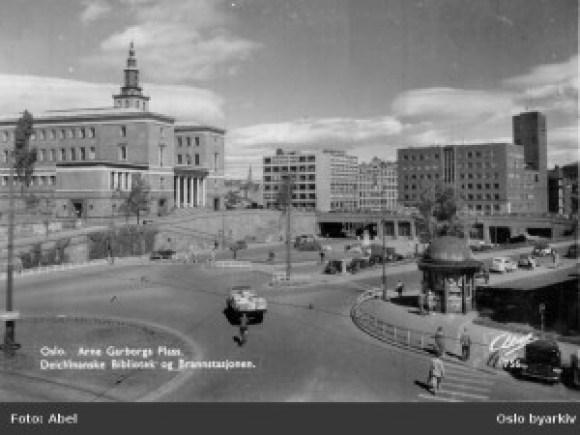 Garborgs plass 1950-tallet