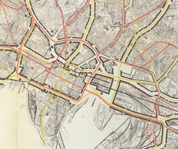 Generalplan Oslo-Sentrumsutsnitt-1929