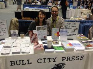Rebecca Hazelton and Ross White at AWP