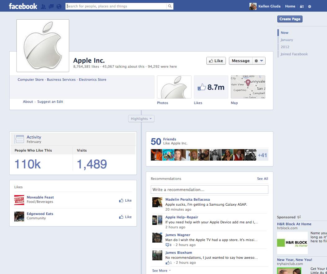 Samsung Kicks Apple S Butt On Facebook