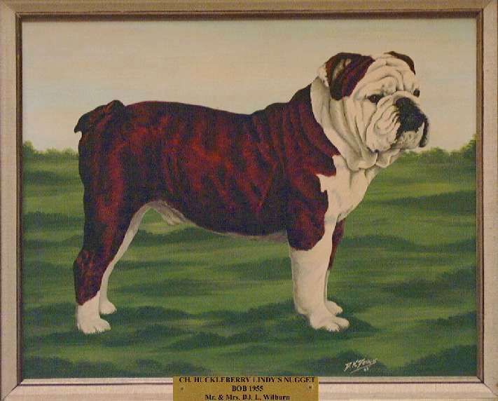Best of Breed: Ch. Huckleberry Lindy's Nugget