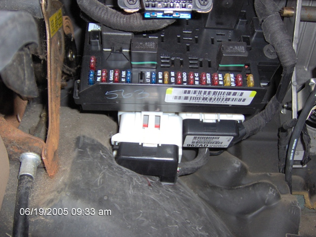 2000 Plymouth Voyager Fuse Box Diagram