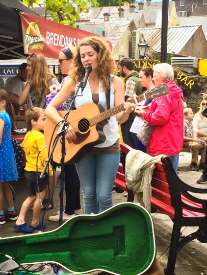 Kinsale Farmers Market brought a lively and fun environment with food and music and crafts