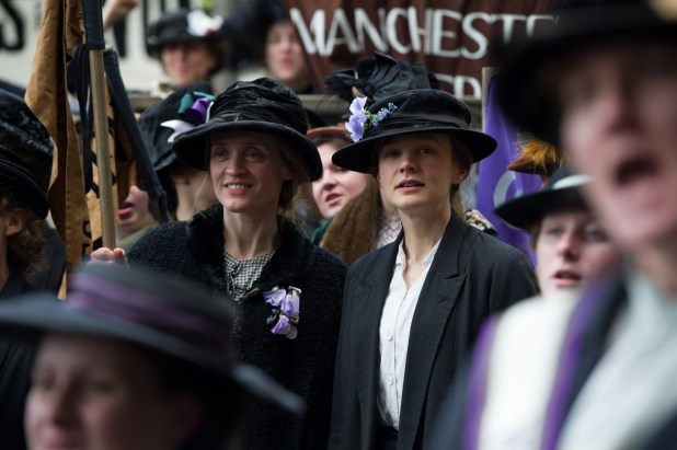 Les suffragettes - photo