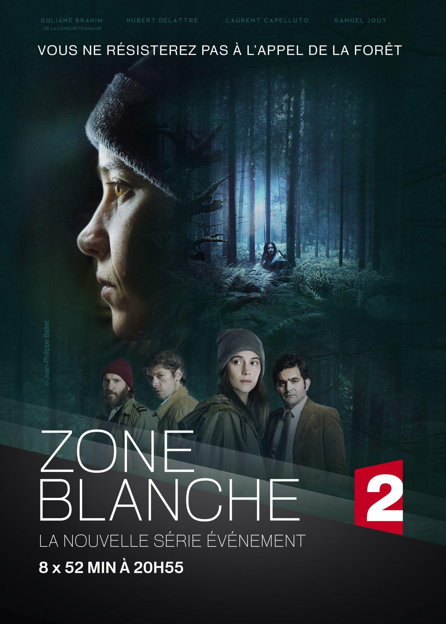 Zone Blanche saison 1 affiche