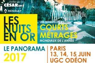 Le Panorama des Nuits en Or 2017 affiche