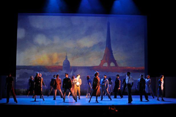 un Américain à Paris -théâtre du Châtelet