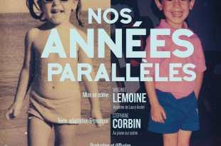 Nos années parallèles par Virginie LEMOINE AFFICHE théâtre musical