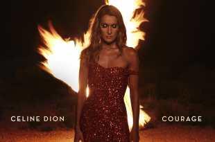 Céline Dion image pochette cover album COURAGE musique