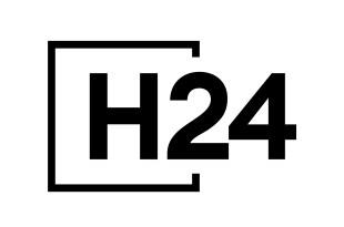 H24 image logo série télé médicale