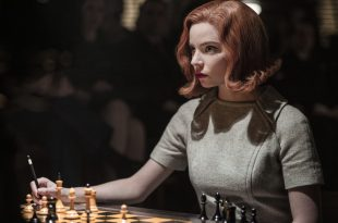 THE QUEENÕS GAMBIT (L to R) ANYA TAYLOR-JOY as BETH HARMON in episode 107 of THE QUEENÕS GAMBIT Cr.