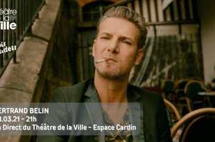 Bertrand Belin en concert à l'Espace Cardin - Théâtre de la ville de Paris le lundi 8 mars visuel musique